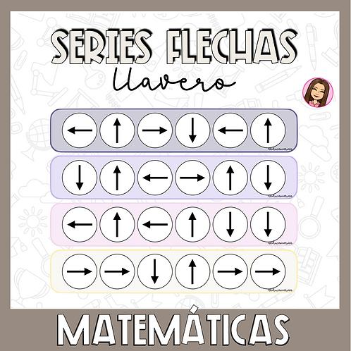 Llavero series flechas