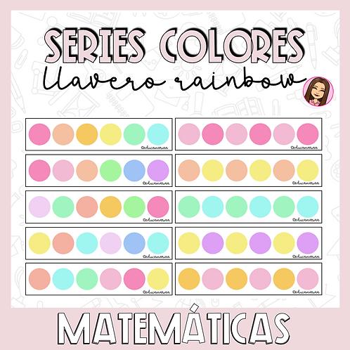 Llavero series colores