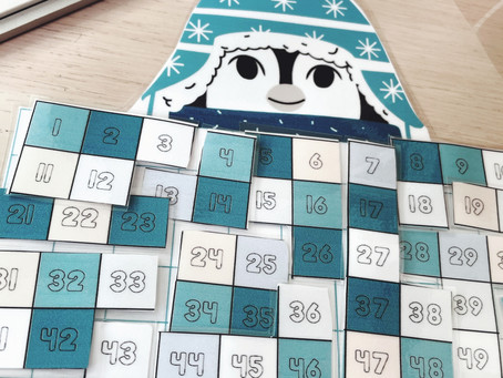 Puzzle de la Tabla del 100