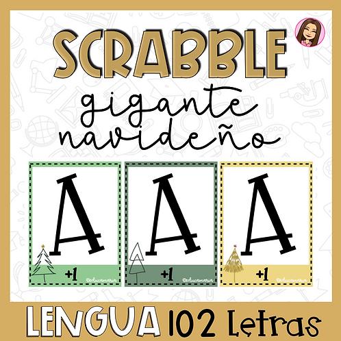 Scrabble navideño 102 letras