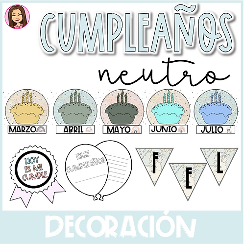 Kit de Cumpleanos (EDITABLE)