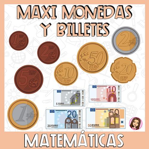 MAXI Monedas y Billetes para asamblea
