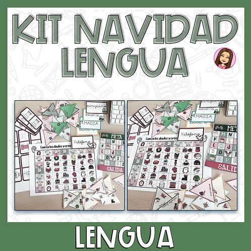 Kit Navidad Lengua