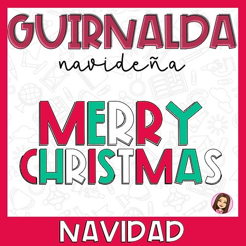Guirnalda Merry Christmas