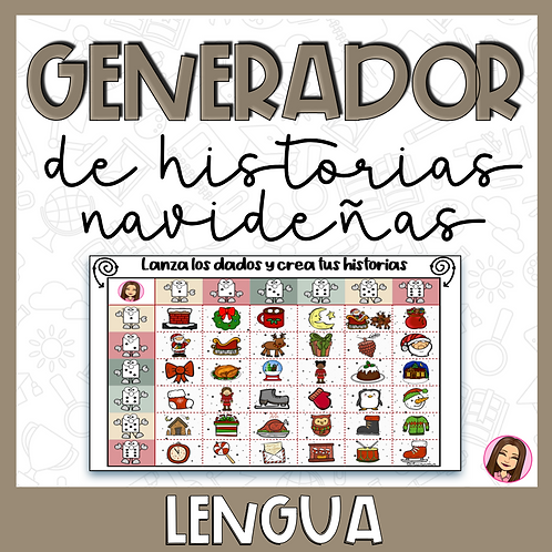 Tablero Generador de Historias NAVIDEÑAS