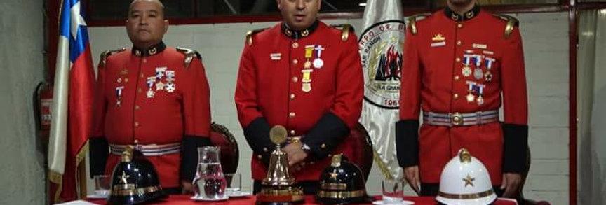 Ceremonia 68º Aniversario Fundación del Cuerpo de Bomberos de La Granja