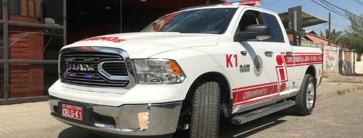 Nueva camioneta de Comandancia para la Institución
