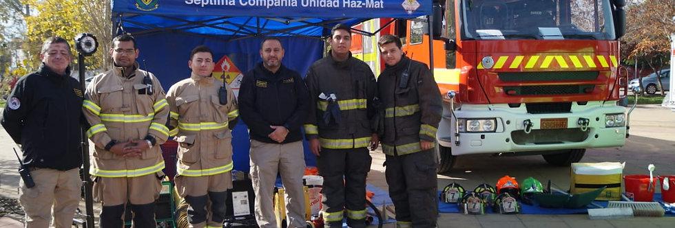 Exitosa jornada tuvo la Expo- Carros de Bomberos en La Granja