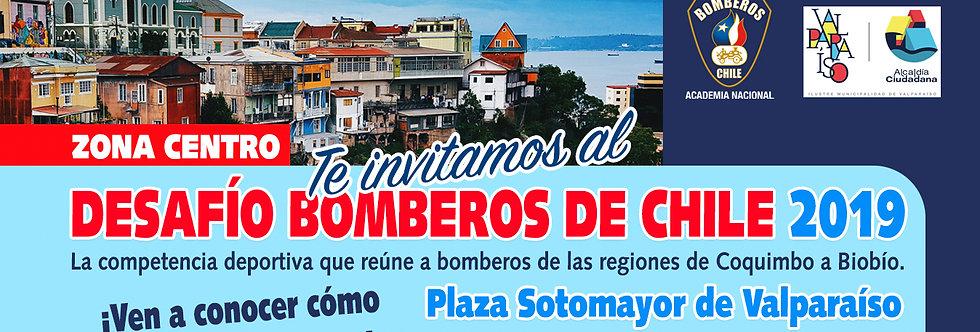 Desafío Bomberos en Valparaíso