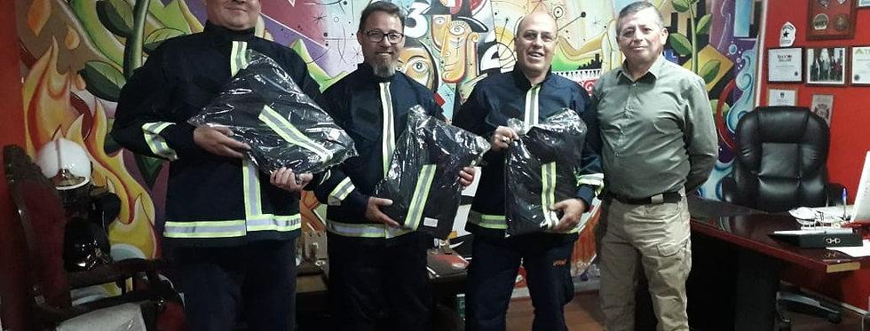 Equipo ERU de La Granja recibió equipos  de trabajo