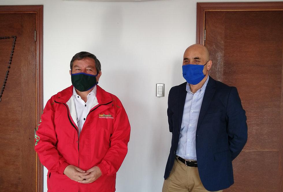 Encuentro con el Alcalde de la Municipalidad de San Ramón