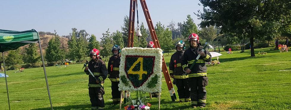 7º Ceremonia de Conmemoración fallecimiento Mártir Institucional