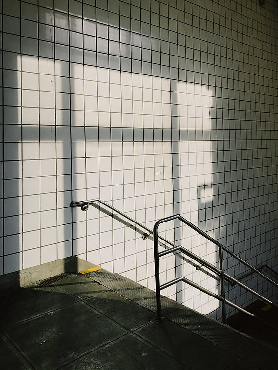 Subway Staircase
