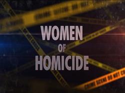 WOMEN OF HOMICIDE TITLE