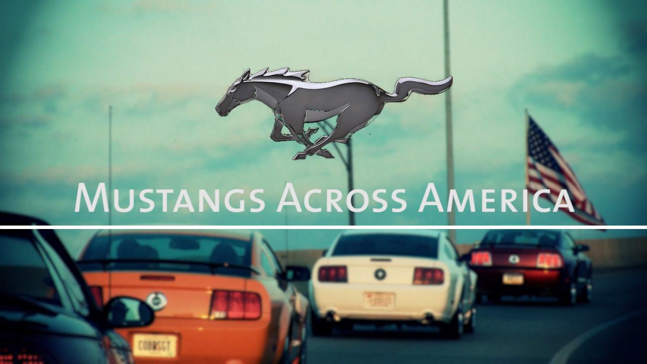 MUSTANGS ACROSS AMERICA TITLE