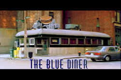 THE BLUE DINER TITLE