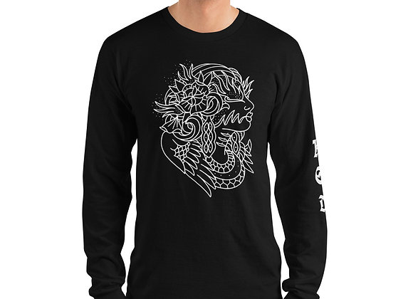 Douglas Lopretto Flamey Eyed Rosie Dew Long sleeve t-shirt