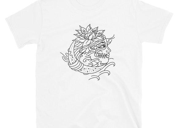 Douglas Lopretto - Moon Flower Short-Sleeve Unisex T-Shirt