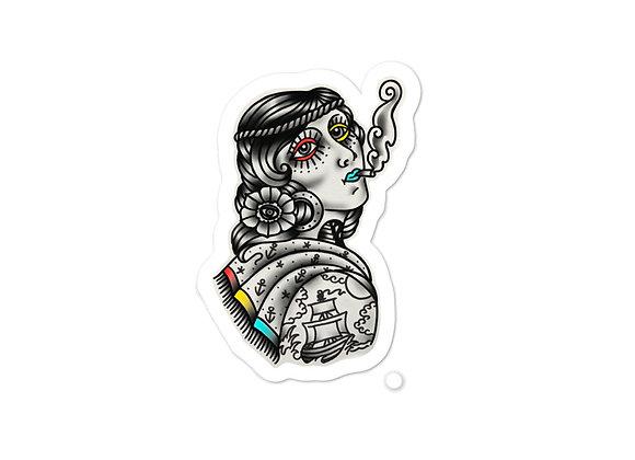 Douglas Lopretto Sailor Gal Bubble-free stickers