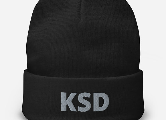 KSD Embroidered Beanie