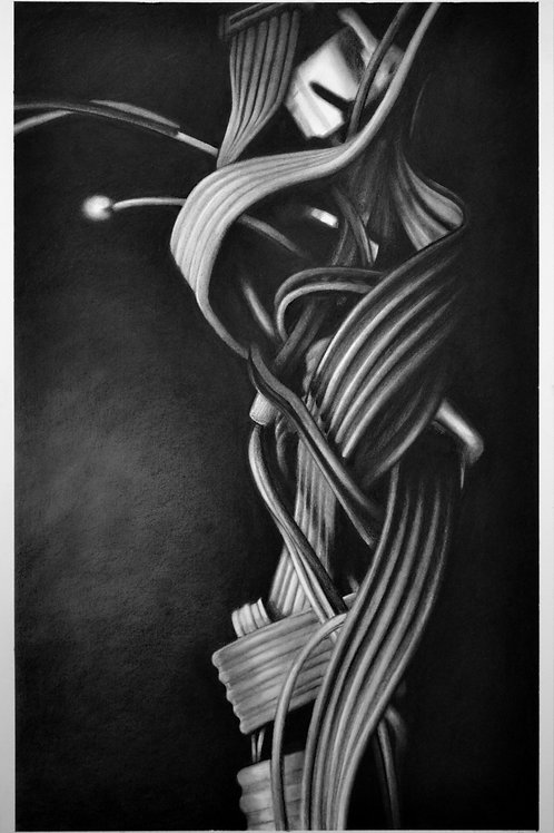 'Cable drawing #7' 2015