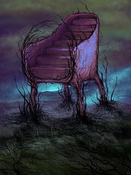 Retro stairchair