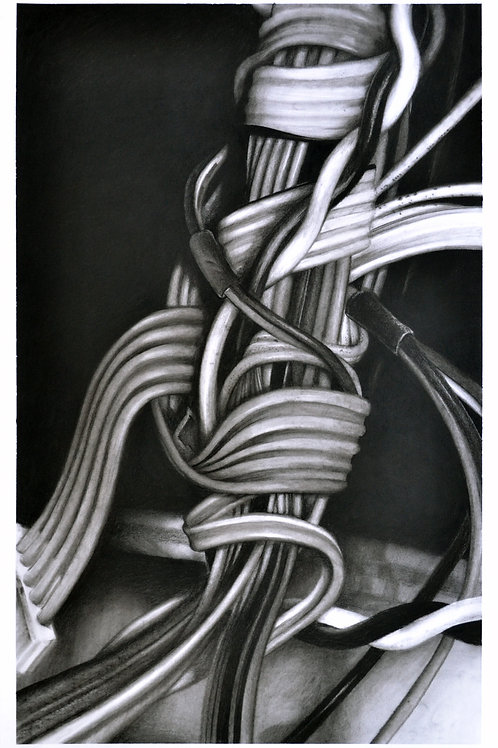 'Cable drawing #2' 2015