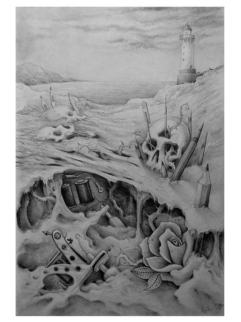 Tattoo landscape