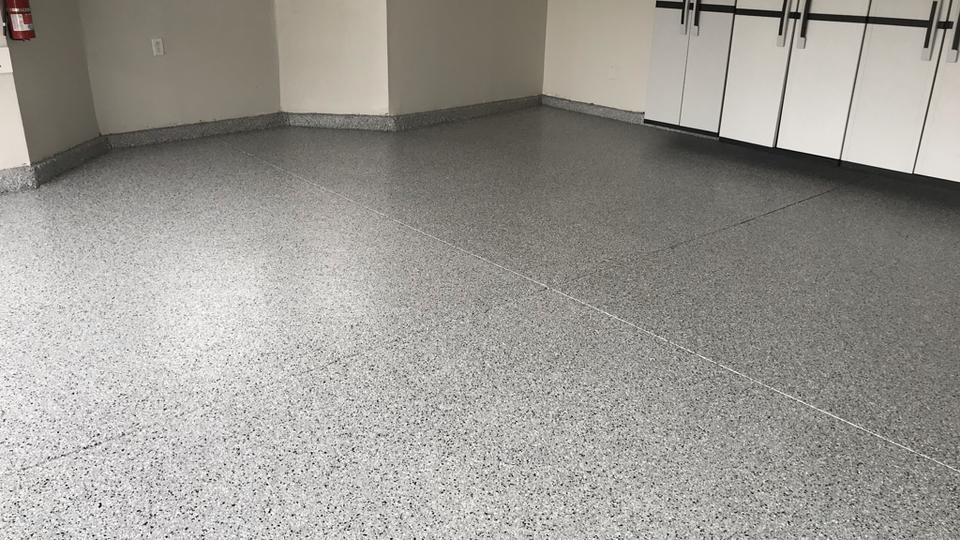 epoxy chip floor