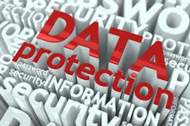 """Image showing the words """"data protection"""""""