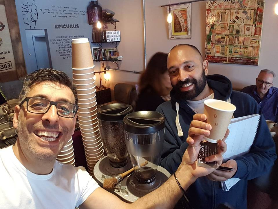 Congratulations to Epicure, the first coffee shop in Berko to switch #Cups2Compost.