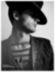 Los Angeles Model JJ Michaels in Amare Magazine wearing Mister Triple X by Bryan Rashaun