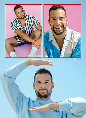 Actor Johnny Sibilly in GAYTIMES Magazine by Bryan Rashaun
