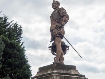 Historic England supports Tavistock's Drake Statue Project