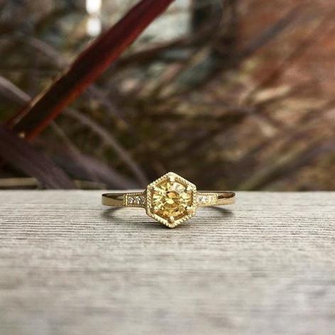 Sapphire hexagon