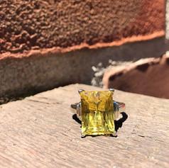 Golden Beryl ring