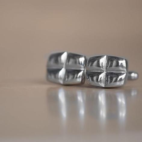 Sterling cufflinks