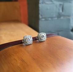 Diamond enhancer studs