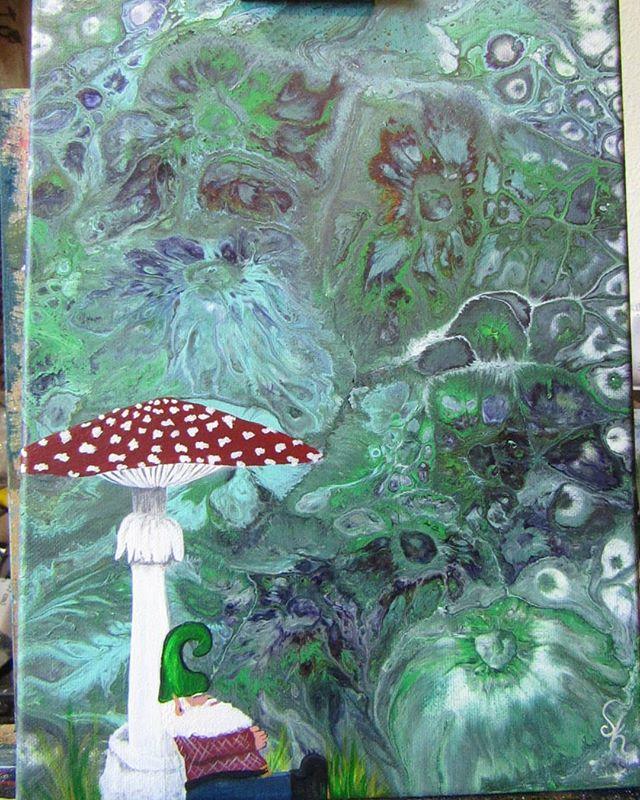 GnOMe dreams under the amanita muscaria
