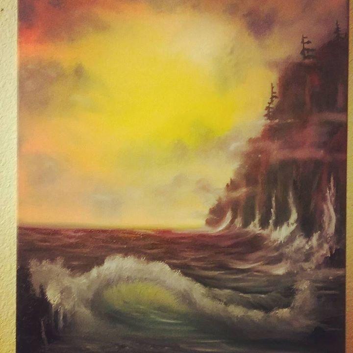 Stormy Coast Dawn