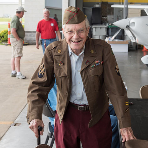 WWII Veteran - Ted Dryer