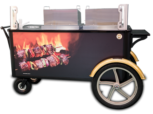 Charcoal BBQ Cart
