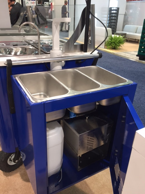 3 compartment sink & variations