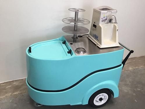 404PC Ice Shaver Push Cart