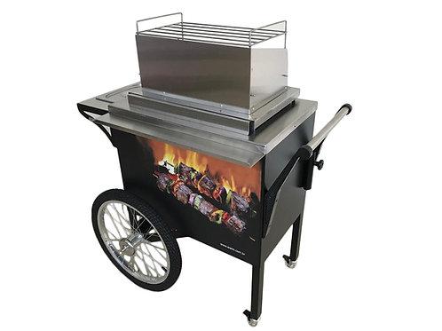 Mini Charcoal BBQ cart