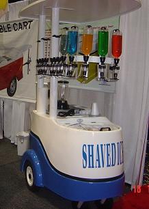shave ice push cart