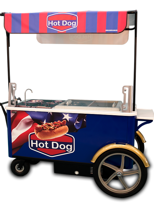 215PC Gourmet Hot Dog Cart