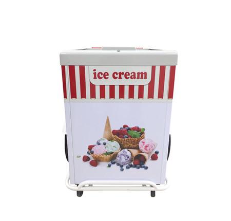ice cream pushcart