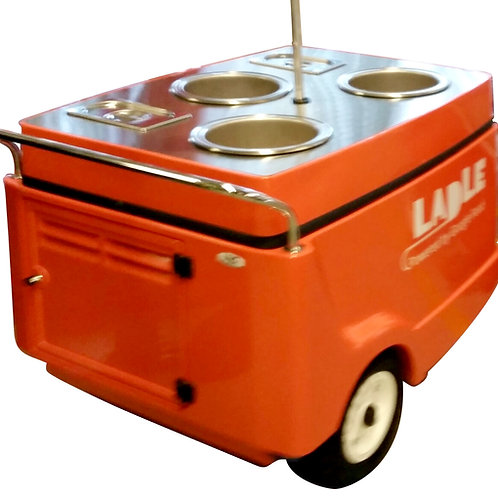 512PC Cart with 3 Soup Wells as low as $133/mo