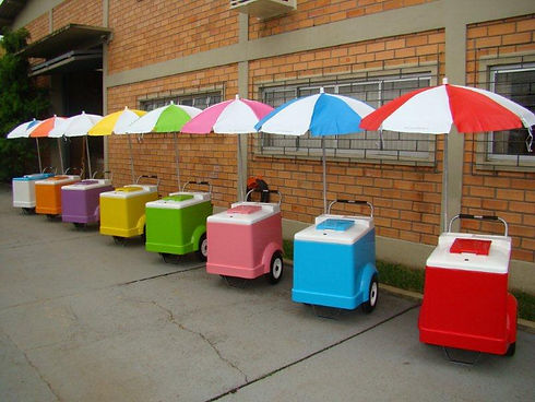 ice pops cart
